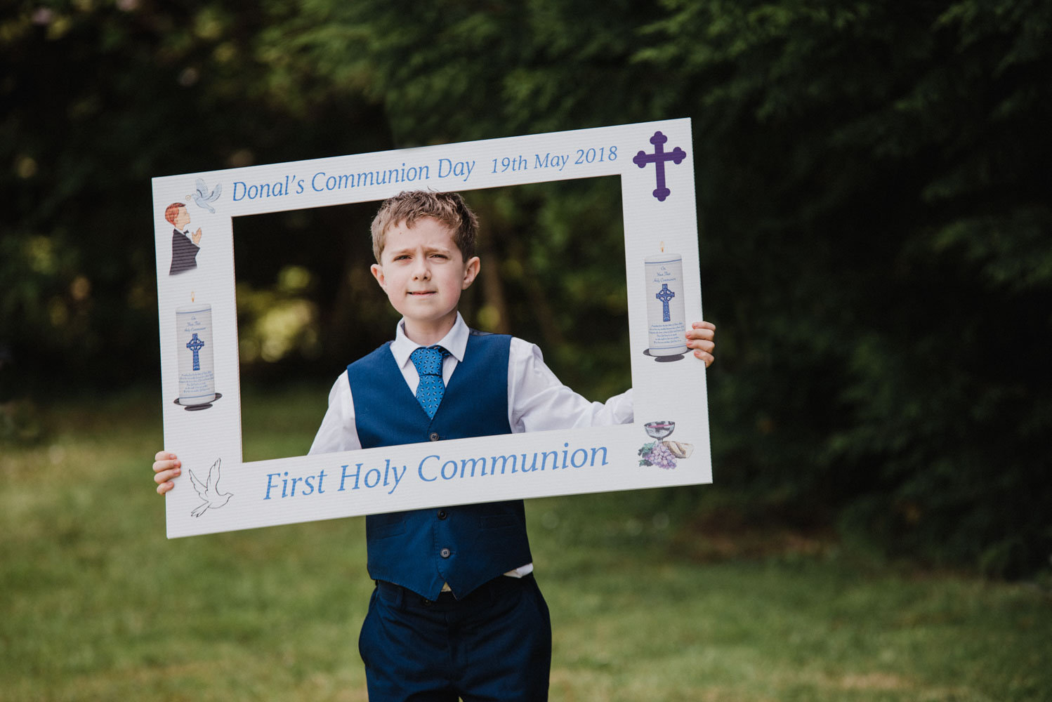 Donal and his Communion Day 19.05.18