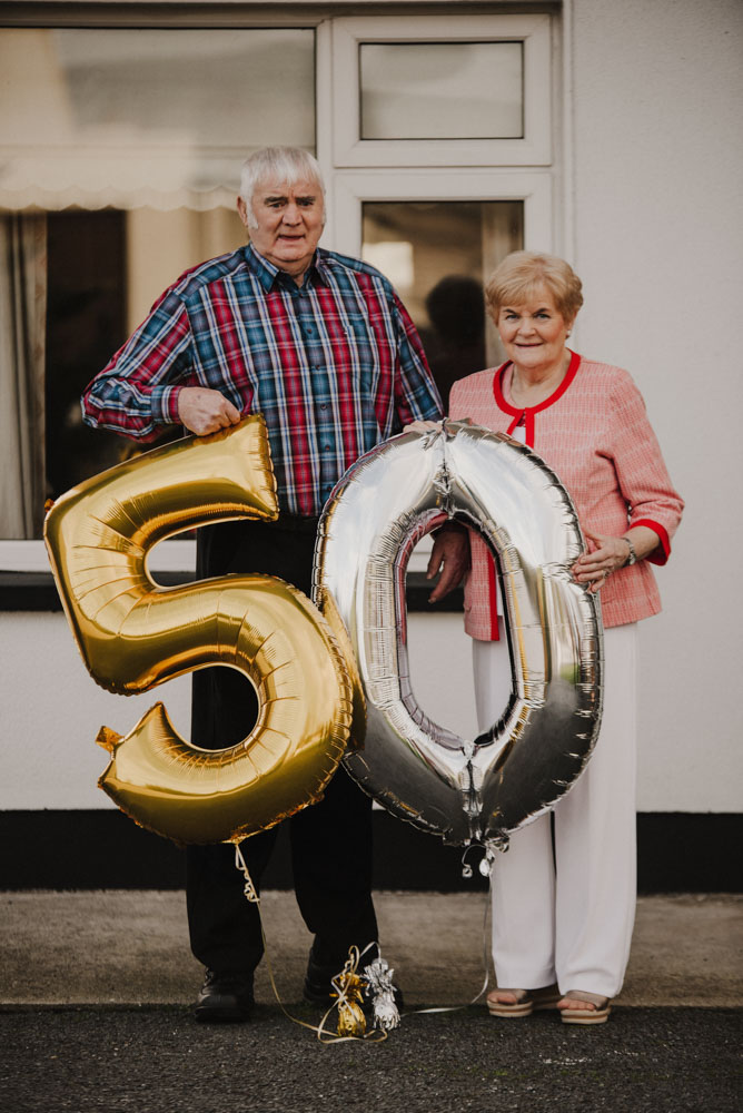 Sean and Imelda Brosnan – 50th wedding anniversary
