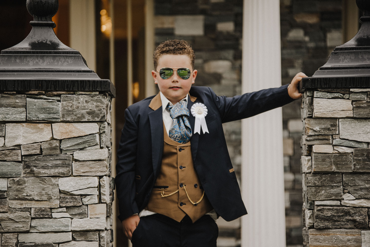 Mike and his Communion Day