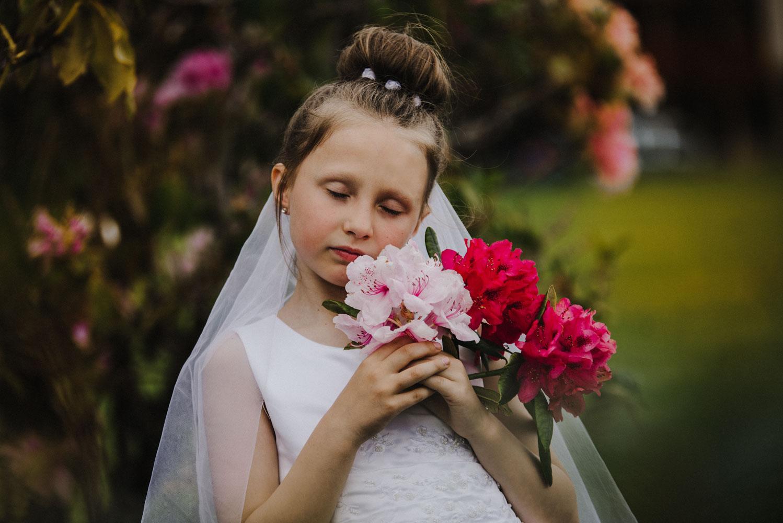 Karolina and her Communion Day