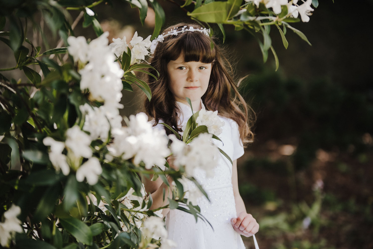 Ada and her Communion Day