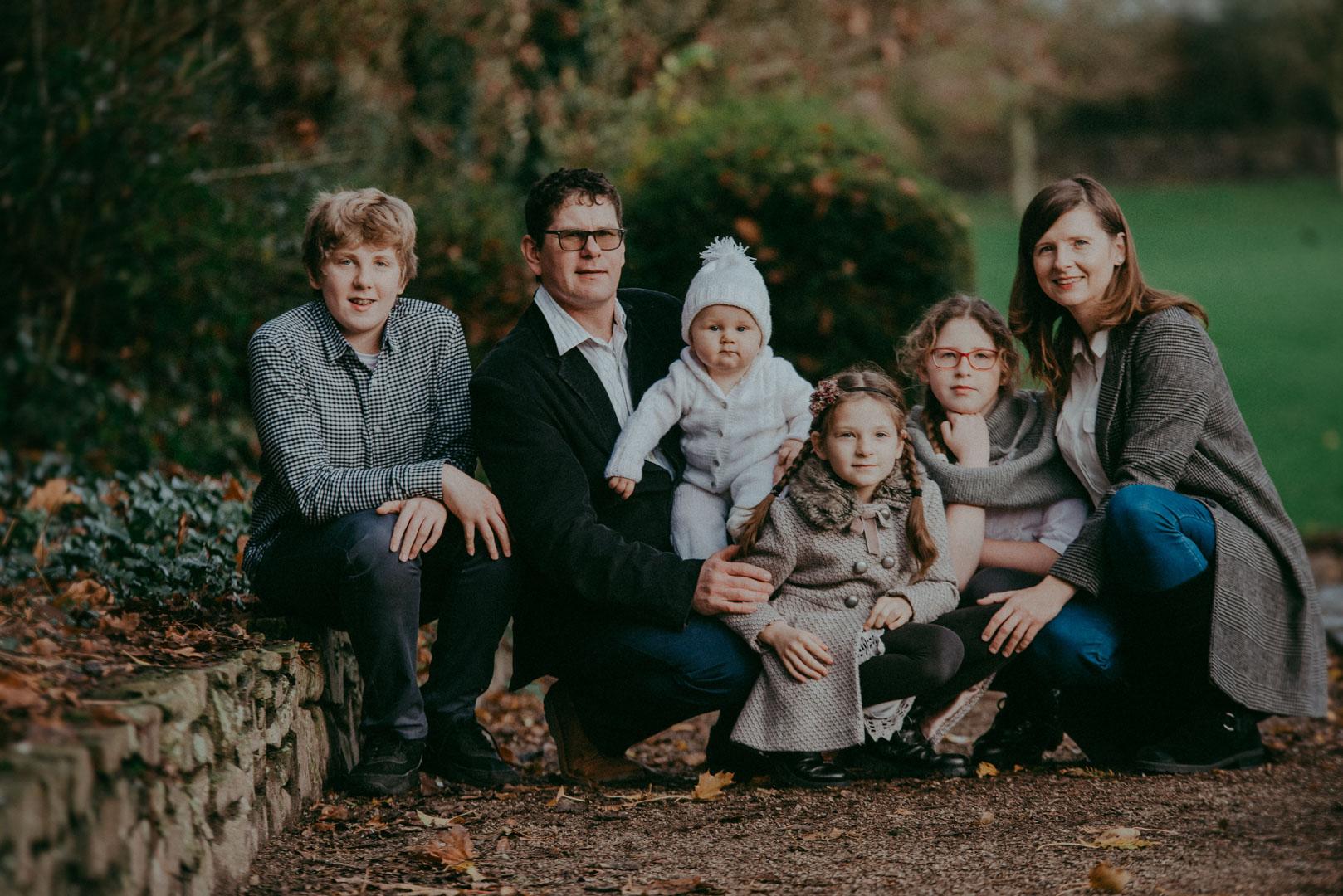 Iza and Her Family