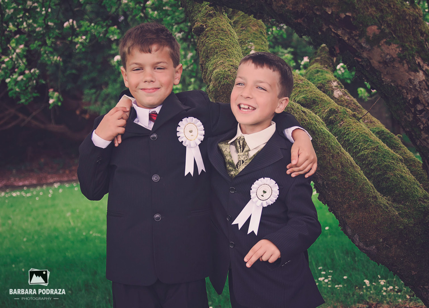 First Holy Communion of Dawid and Adrian 09/05/2015