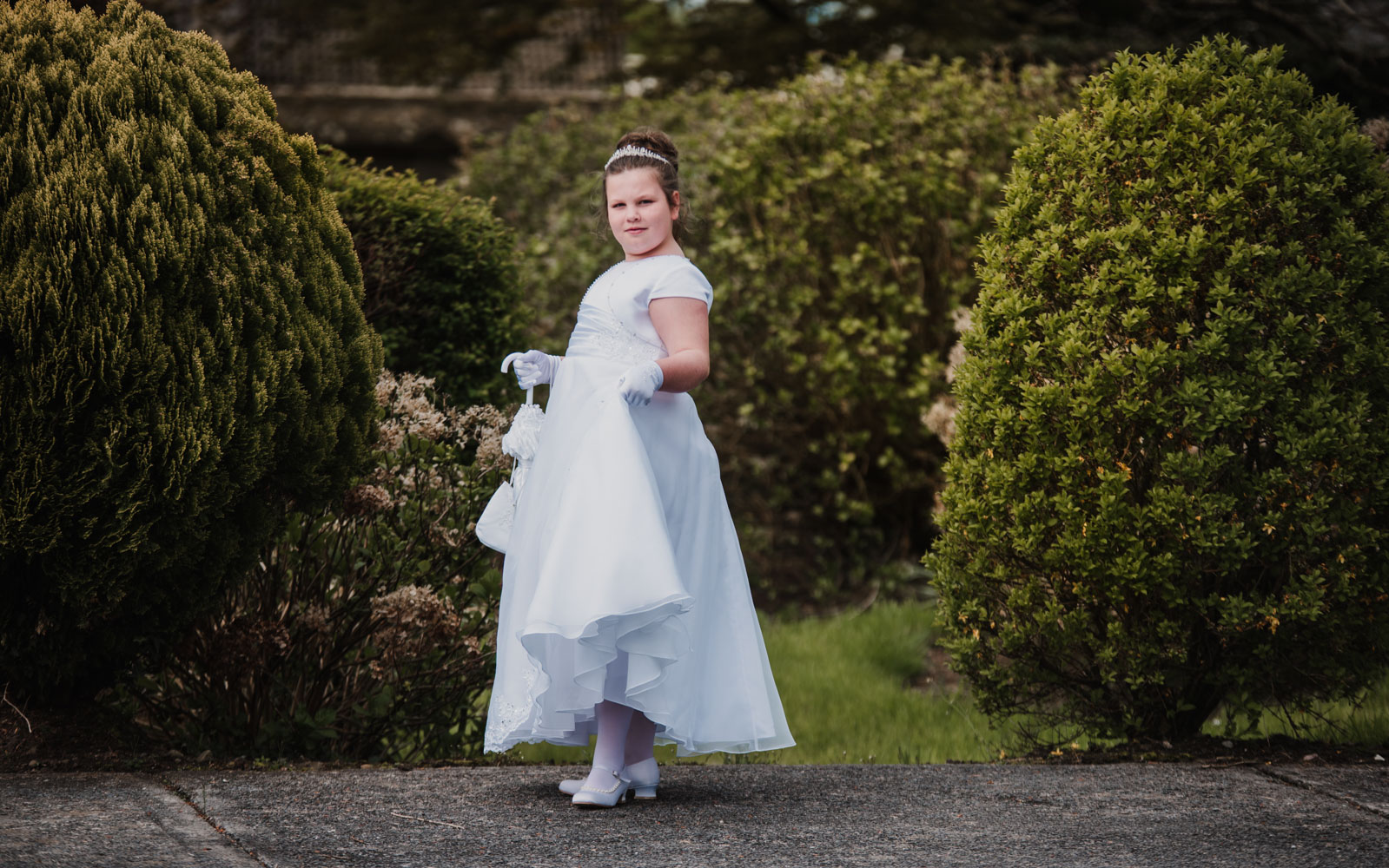 Ola and her Communion Day 05.05.18