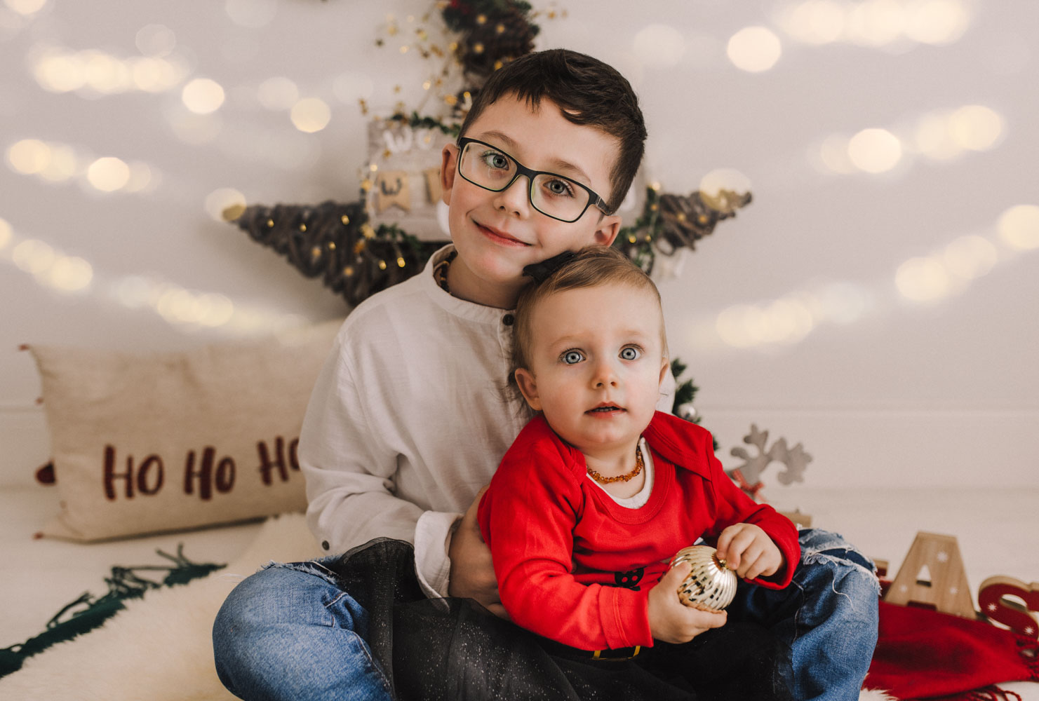 Olaf and Mia – Christmas photo session 2019