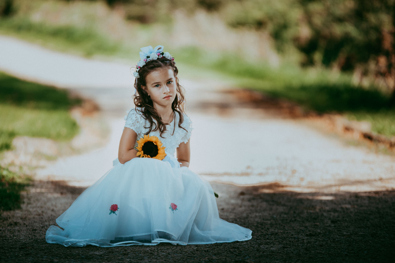 Martyna's First Holy Communion