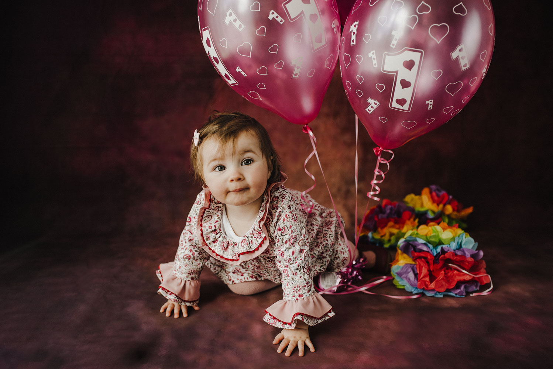 Ayda's first birthday