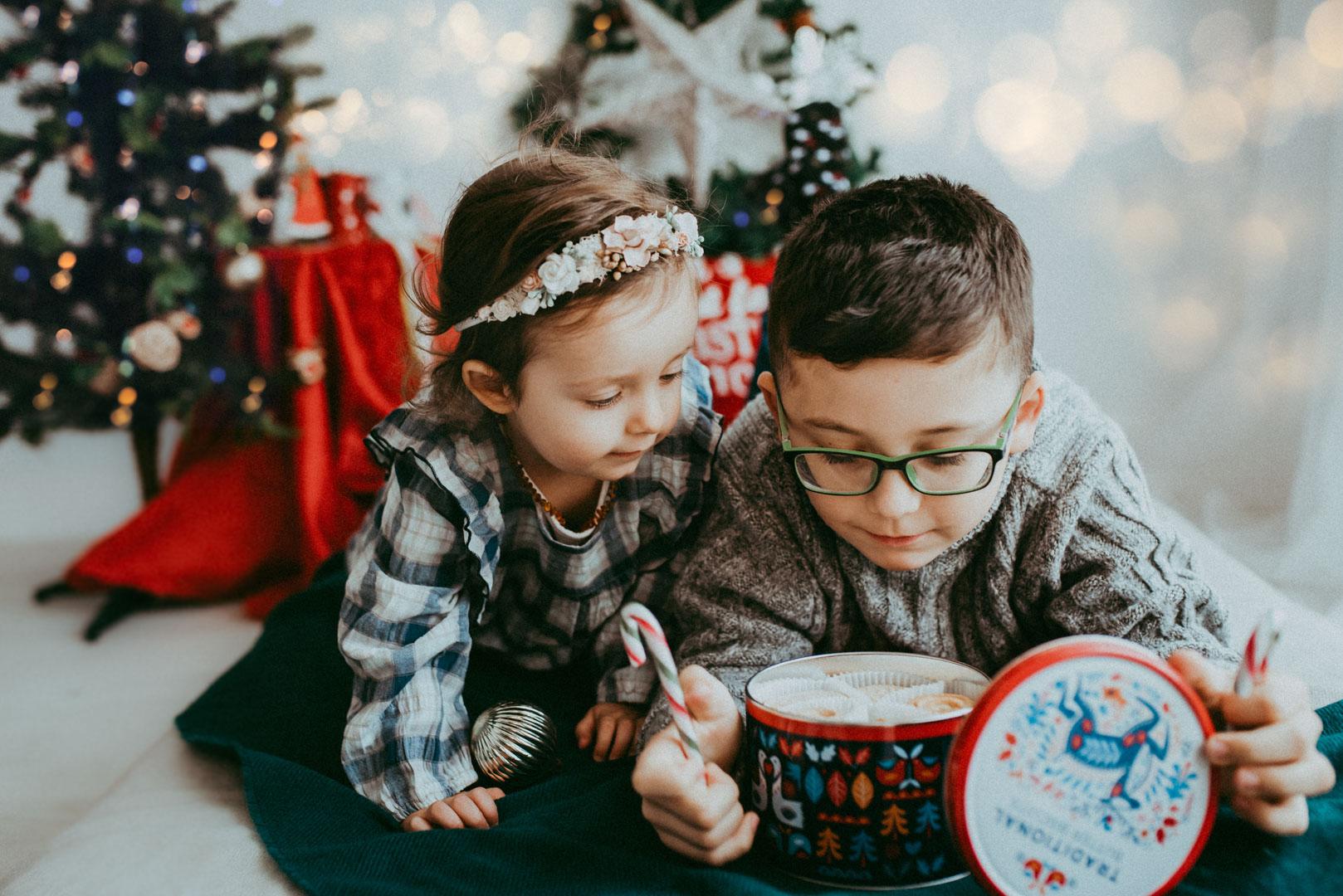 Olaf & Mia – Christmas photo session