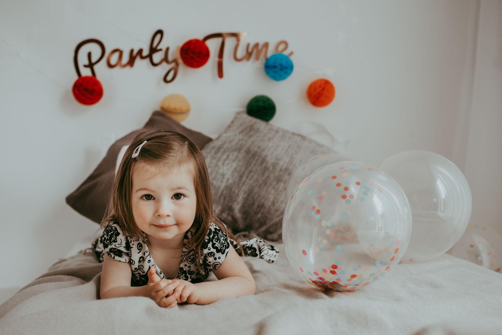 Ayda-Rose , her 2nd Birthday photo session