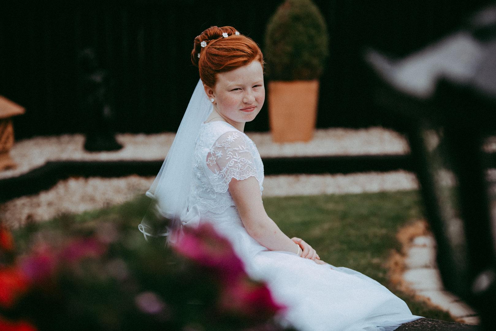 Aoibheann her communion day